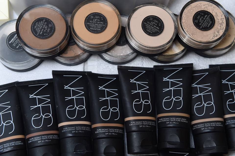Maquillaje Nars con FPS